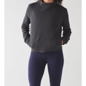 Sweaters - Lululemon City Bound Turtleneck Heathered Black